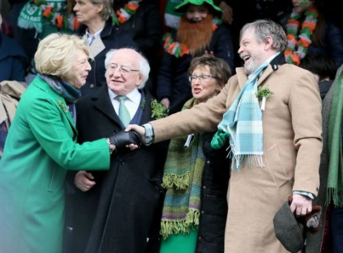 'Today the Whole Galaxy Is Irish.' Mark Hamill Is Guest of Honor at Dublin's St. Patrick's Day Parade