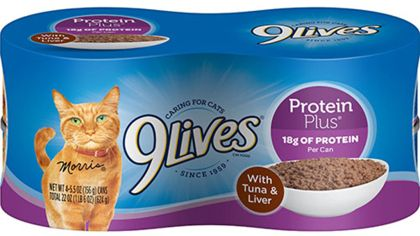 9Lives Cat Food Recalled For Low Levels Of Thiamine