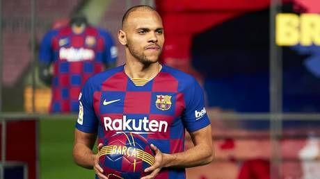 'They f****d us over!' Barcelona's emergency signing of Martin Braithwaite leaves boss of La Liga minnows Leganes FUMING