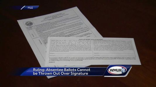 Blind voters sue over New Hampshire's absentee ballot system