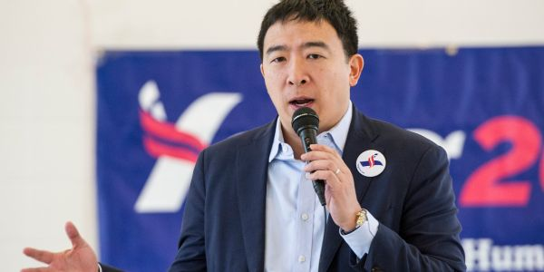 A former employee of Andrew Yang claimed he abruptly fired her because she got married and would stop 'working as hard'