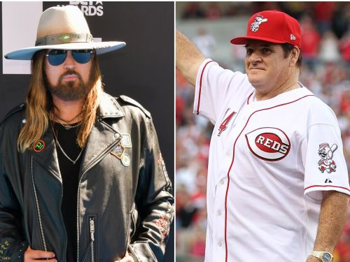 Billy Ray Cyrus wants to use the success of 'Old Town Road' to get Pete Rose into the Hall of Fame