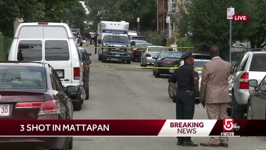 Commissioner: 1 dead, 2 injured in Mattapan triple shooting
