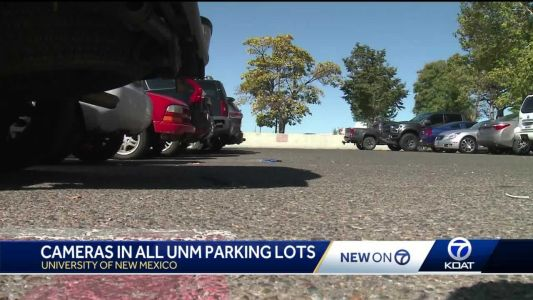 Surveillance cameras coming to all UNM parking lots