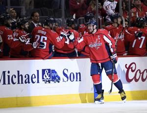 Alex Ovechkin scores twice, Capitals beat Rangers 4-3 in OT