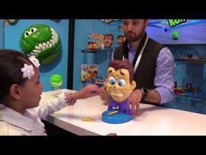 Pimple Pete Game at 2018 New York Toy Fair
