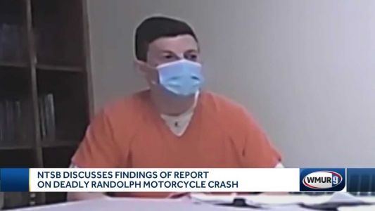 NTSB discusses report of findings from deadly Randolph motorcycle crash
