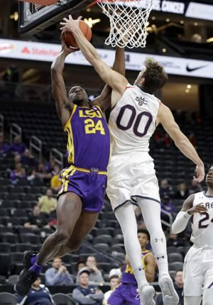 Waters, Williams help LSU beat Saint Mary's 78-74