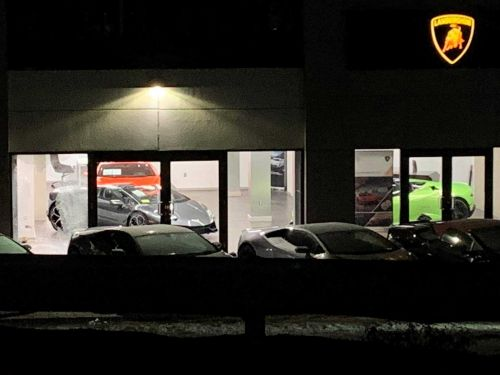 2 Lamborghinis stolen in luxury car dealership heist