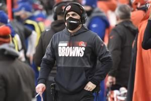 Cruel twist: Browns lose coach for playoffs due to COVID-19