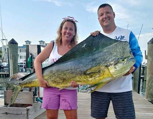 Record-breaking catch reeled in by local woman