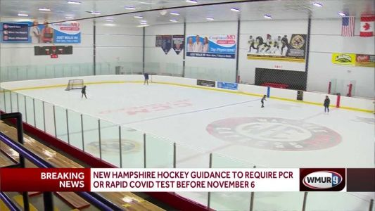 New guidance requires COVID test for return to hockey
