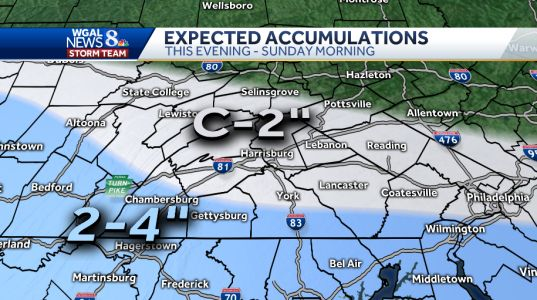 Winter storm to impact Susquehanna Valley