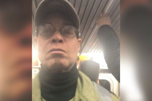 Man caught on camera after exposing, fondling self on subway
