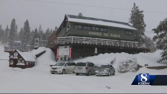 Storm forecast to blast Sierra with up to 5 feet of snow