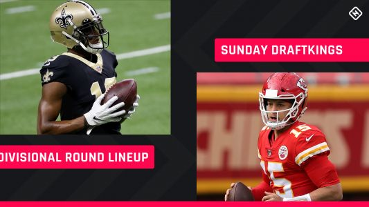Divisional Round Sunday DraftKings Picks: NFL DFS lineup advice for daily fantasy football playoff tournaments