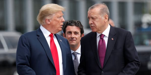 Turkey's authoritarian leader is walking all over the United States thanks to Trump