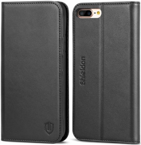 Protect your iPhone 8 Plus on the front and back with a folio case