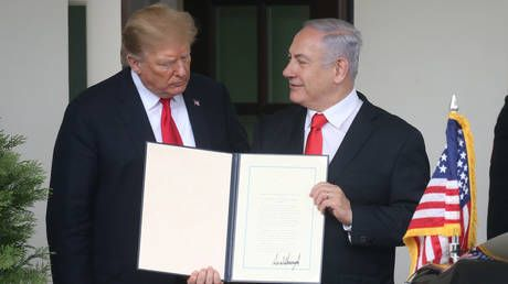 Trump's Golan Heights recognition is a 'move towards further isolation' for the US