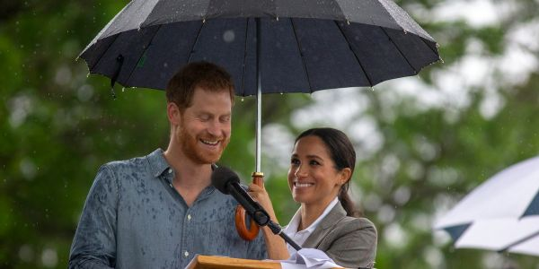 The 75 most candid photos of Prince Harry, Meghan Markle, Prince William, and Kate Middleton from 2017 and 2018