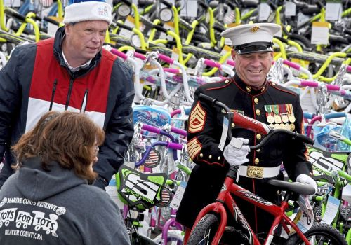 1,200 bikes headed to kids thanks to Al and friends