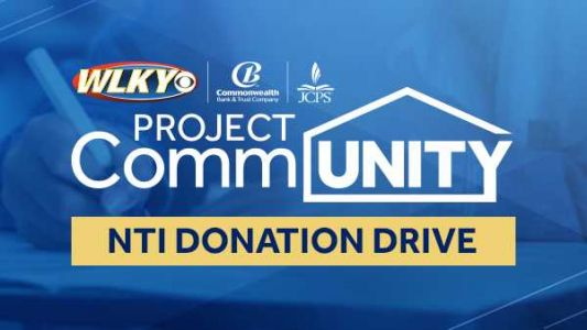 WLKY, JCPS team up for donation drive to provide students with NTI-To-Go kits