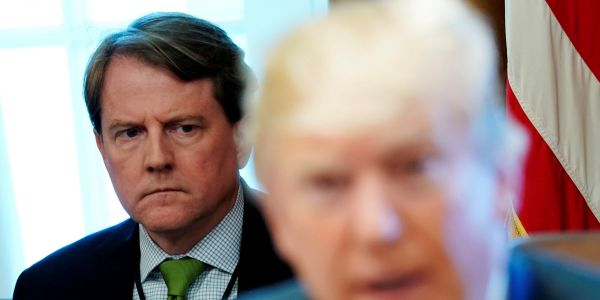 There's a huge loophole in a new DOJ filing that Trump cited to block Don McGahn from testifying before Congress