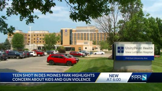 Teen released from hospital following park shooting