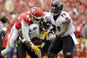 Ravens come up empty on 2-point attempts in loss to Chiefs