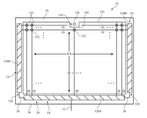 IPad patent suggests a potential shift for front-facing camera