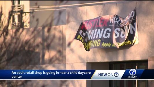 Adult retailer going in near child daycare center