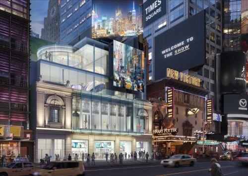 A Times Square theater that's been abandoned for nearly 30 years is getting a $100 million makeover. Here's what it will look like
