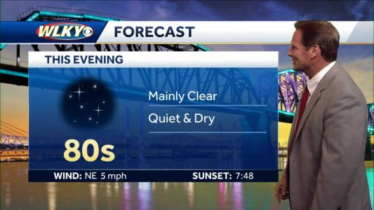 Quiet and dry, mainly clear