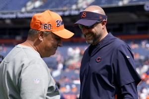 Payton, Fangio get their digs in on officials