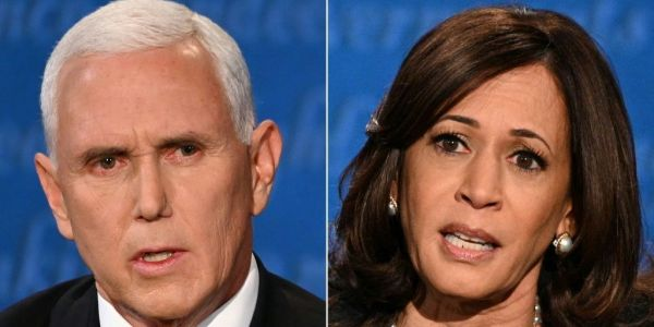 Pence, Harris Clash Over Covid, Economy, High Court
