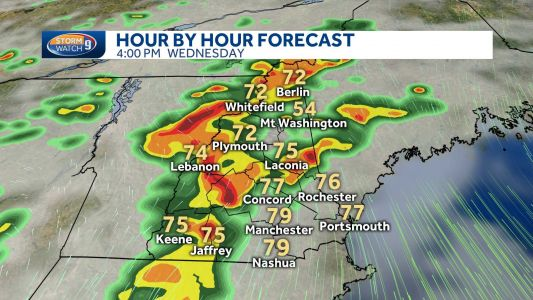 Possible severe storms Wednesday could pack damaging winds, hail, lightning