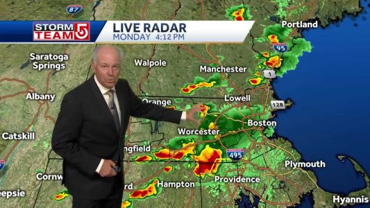 Video: Storms bring end to intense heat, humidity