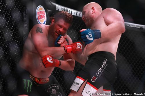 Matt Mitrione vs. Sergei Kharitonov headliner set for Bellator's back-to-back weekend on Feb. 15