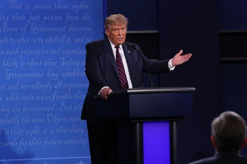 Trump says Biden is too afraid to support police at first presidential debate