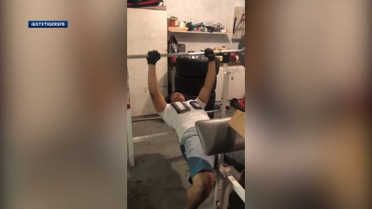 St. Xavier football players using social media to push each other to work out