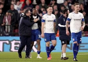 3rd-tier Tranmere beats Watford, to play Man Utd in FA Cup