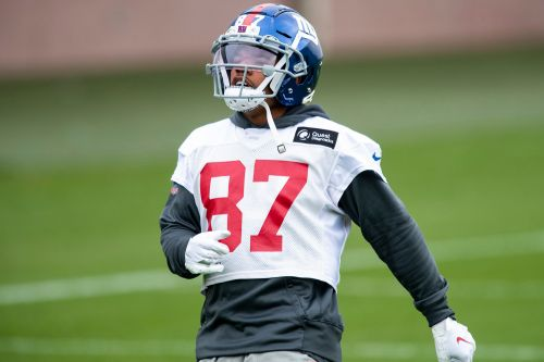 Sterling Shepard takes big step with Giants return uncertain