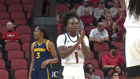 Evans Scores 18 as No. 8 Louisville Routs Chattanooga
