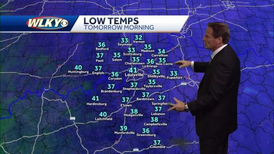 Chilly with some frost possible