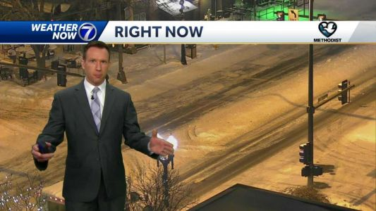 Flurries end early Tuesday, more light snow overnight