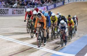 Germany wins women's team sprint at track worlds in Berlin