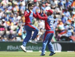 India prevail by 11 runs after Afghans run out of steam