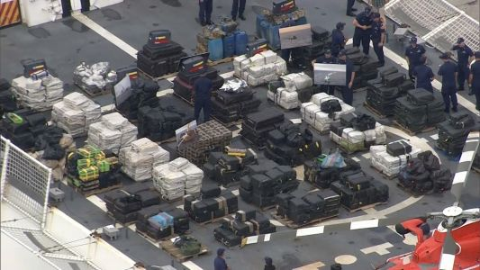 Coast Guard seizes about $500 million worth of cocaine