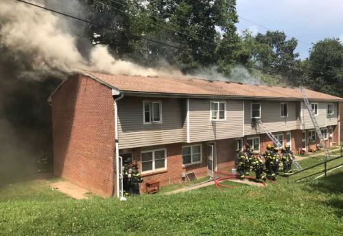 Firefighter injured in Asheville apartment fire, blaze under investigation, officials say