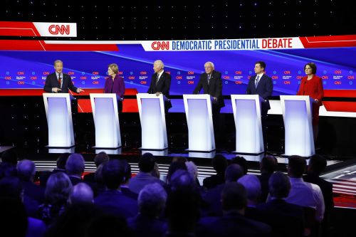 Fact checking candidates' claims from last night's Democratic debate